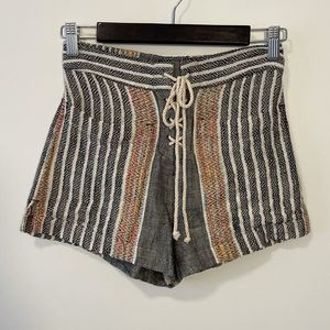 Rip Curl Woven Lace Up Shorts